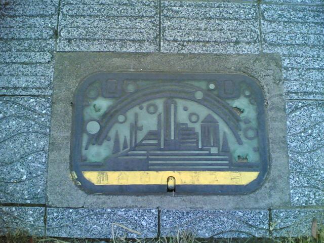 仙台市ガス局のマンホール