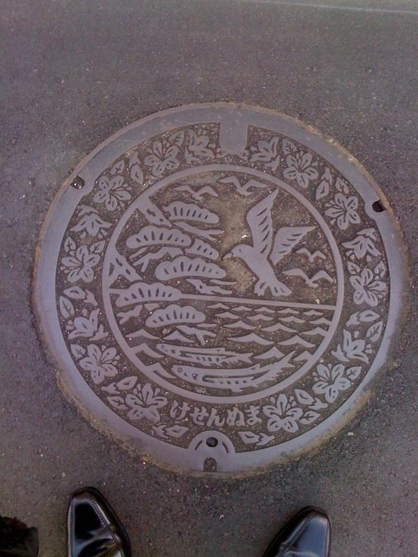 気仙沼のマンホール