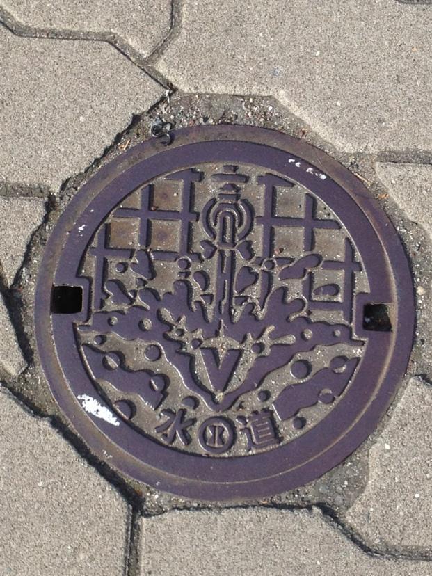 大阪市のマンホール