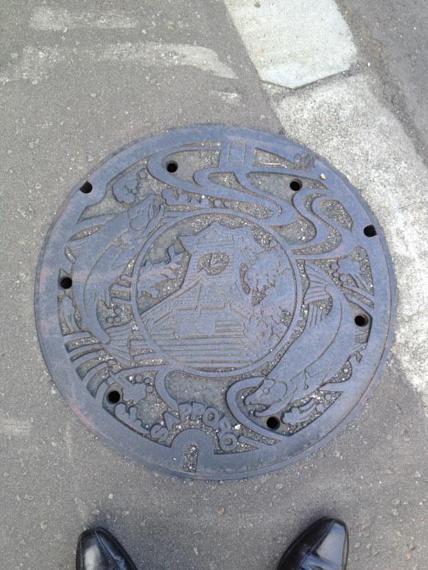 札幌市のマンホール