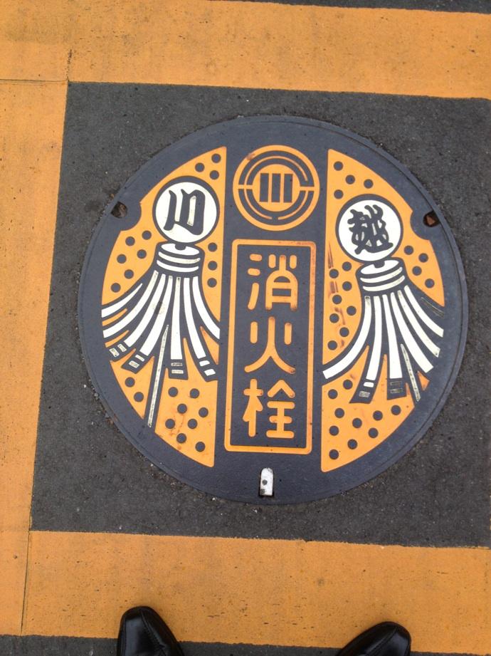 川越市のマンホール(消火栓)