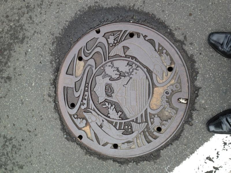 札幌のマンホール