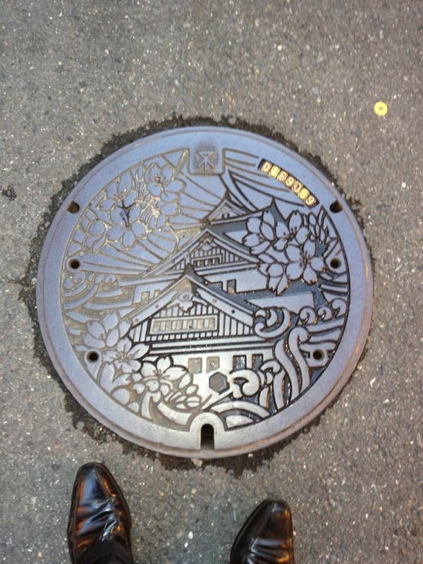 大阪市のマンホール2